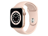 Apple Watch Series 6 GPS 44mm Gold Aluminum Case with Pink Sand Sport Band / Pink