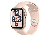 Apple Watch SE 44mm Gold Aluminum Case with Pink Sand Sport Band / Pink