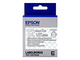 Epson C53S654013 Tape Cartridge 12mm/9m LK4TWN Clear