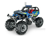 XTech 5803 Bricks: Pull Back Off-Road Vehicle