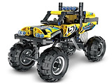 XTech 5804 Bricks: Pull Back Off-Road Vehicle